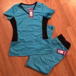 NWT Purple label yoga scrubs by Healing Hands🔥🔥